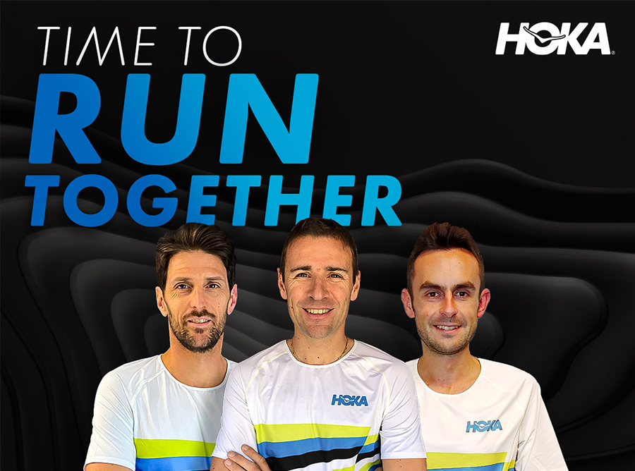 Time to run together