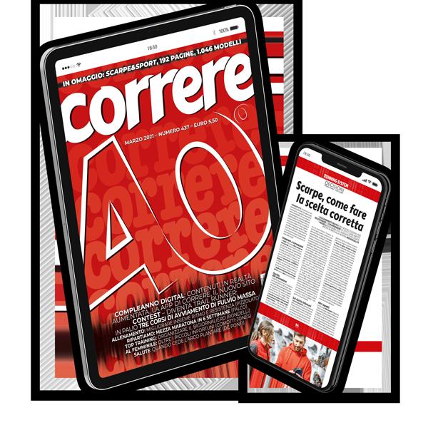 Abbonamento digitale rivista Correre