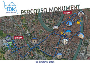 Percorso Monument Run 10k Special Edition
